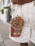 NEW IN Monaveen FRIES Clutch Bag