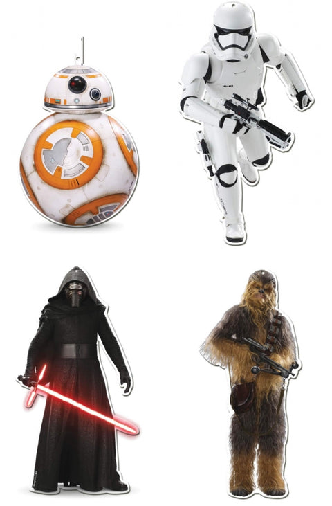 2 Star Wars Cutouts
