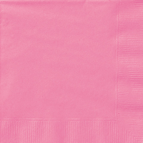 20 Hot Pink Luncheon Napkins