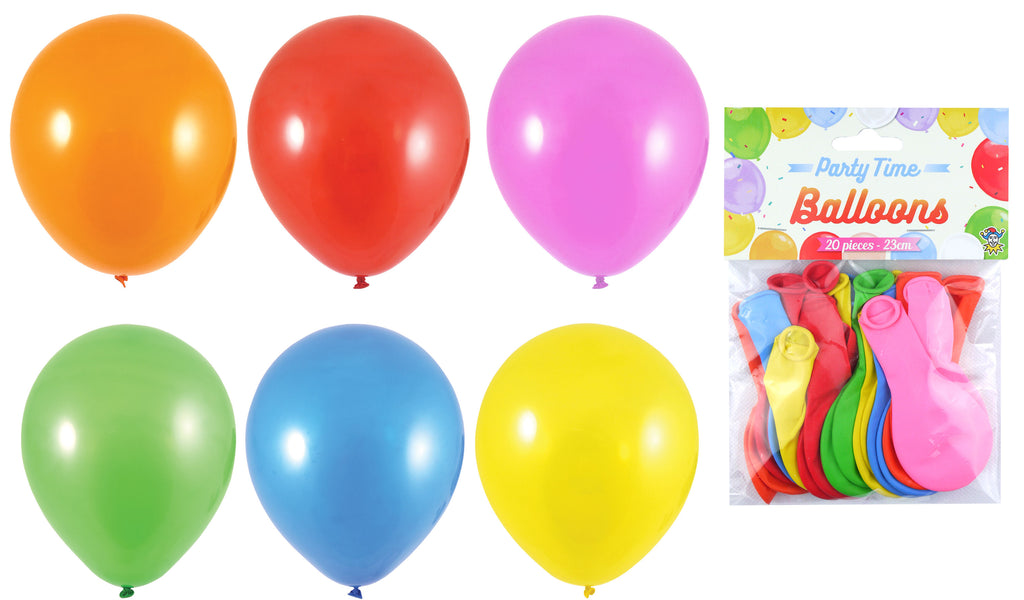 20 Assorted Colour Balloons