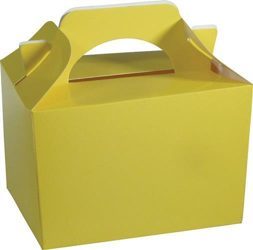 10 Yellow Boxes - Party Perfecto