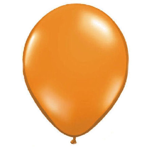 "72 Pumpkin Orange 5"" Latex Balloons"