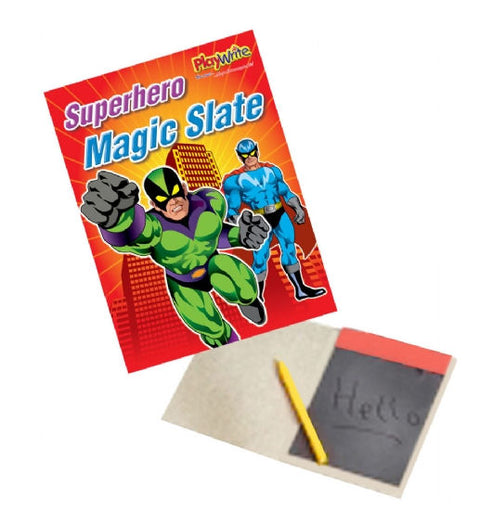 6 Super Hero Magic Slates