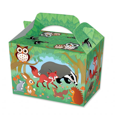 10 Woodland Animal Boxes
