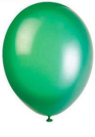 50 Hemlock Green Latex Balloons - Party Perfecto