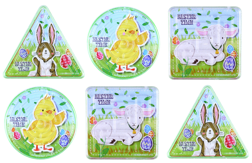 6 Easter Maze Puzzles