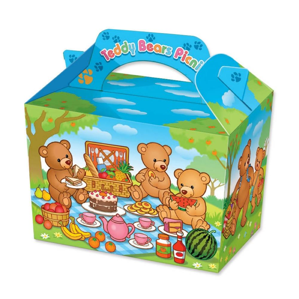 10 Teddy Bears Picnic Boxes - Party Perfecto