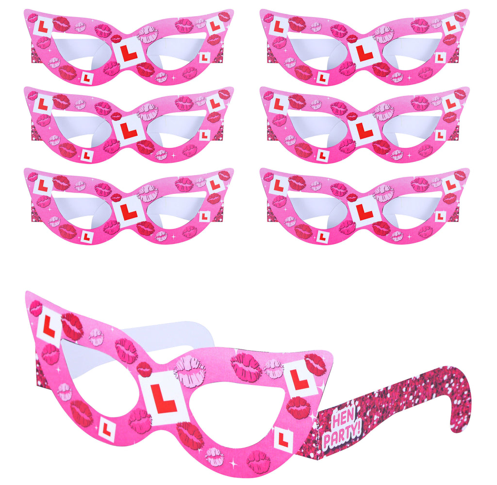6 Hen Party Glasses