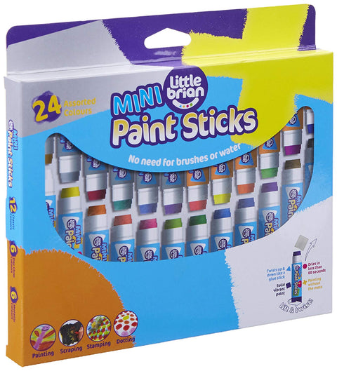 Little Brian Paint Sticks Mini - 24 Assorted