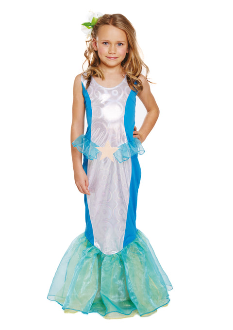 Childs Mermaid Costume 7-9 Years