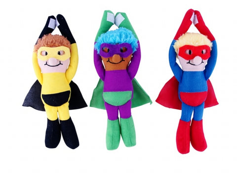 Plush Super Hero