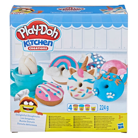 Play-Doh Kitchen Creations - Delightful Doughnuts Set