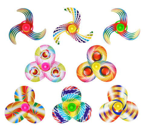 6 Colourful Spinning Tops