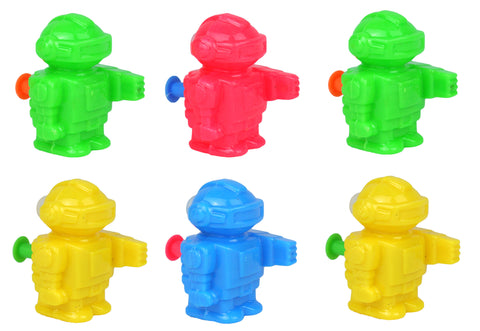 6 Mini Robot Water Guns