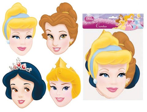 6 Disney Princess Masks