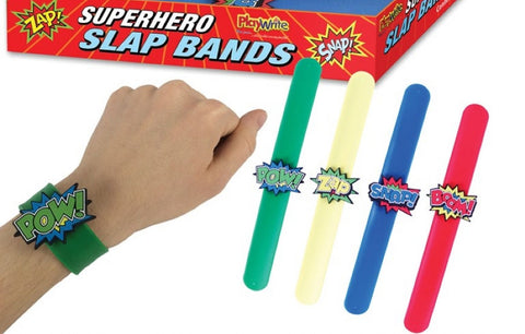 6 Super Hero Snap Bracelets
