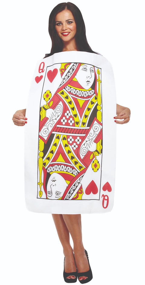 Adult Playing Card Queen Of Hearts Costume