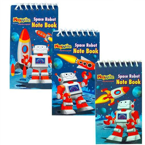 6 Space Robot Notebooks