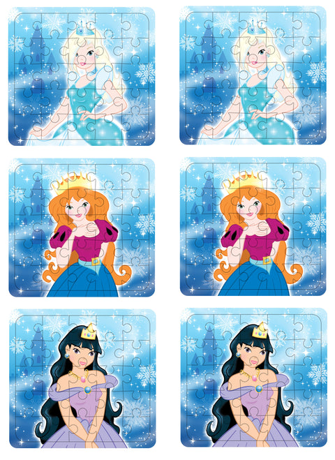 6 Ice Princess Jigsaw Puzzles
