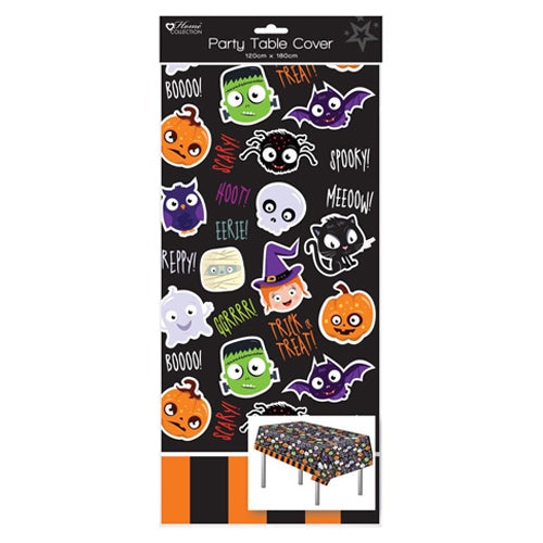 Halloween Plastic Tablecover
