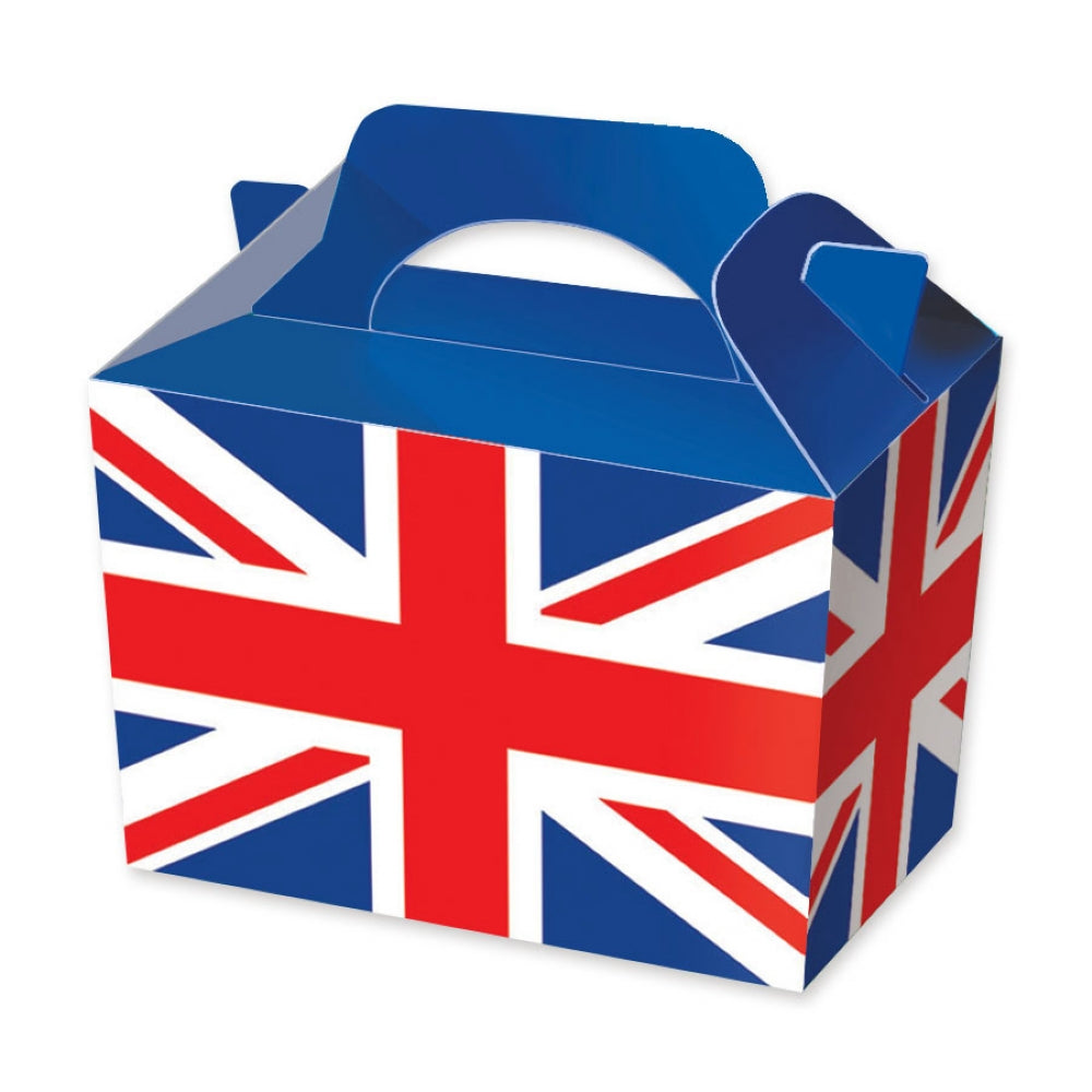 10 Union Jack Flag Boxes