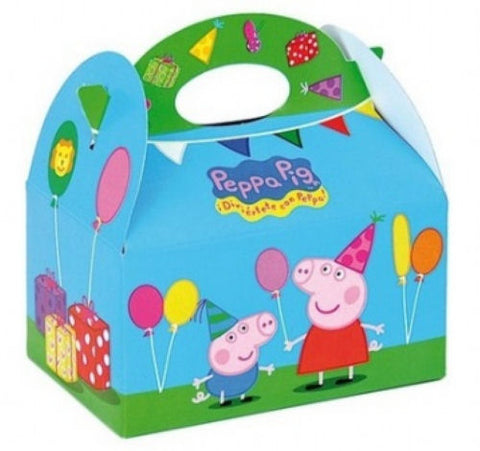 6 Peppa Pig Party Boxes