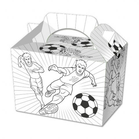 10 Colour In Football Boxes