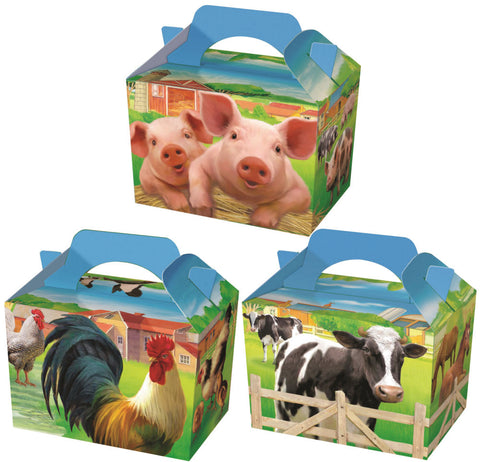 10 Farm Animal Boxes