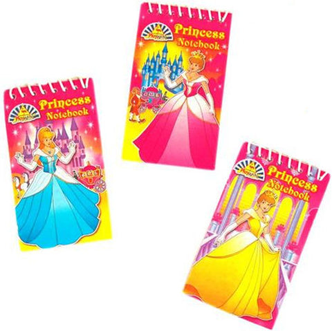 6 Princess Notebooks