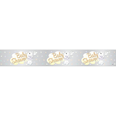 Baby Shower 12ft Foil Banner