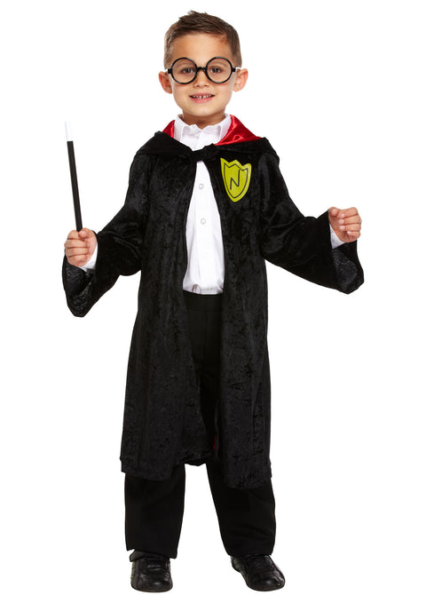 Childs Wizard Costume 7-9YRS