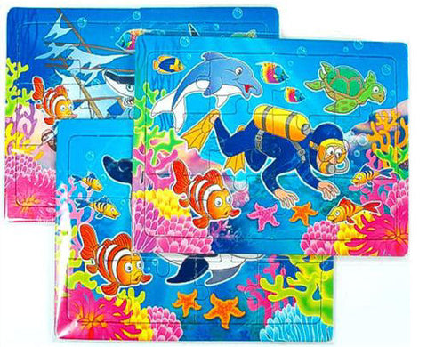 6 Sealife Jigsaw Puzzles