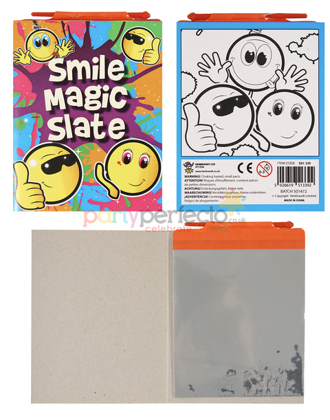 6 Smiley Magic Slates