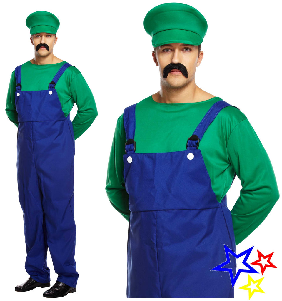 Adult Super Workman Costume - Green