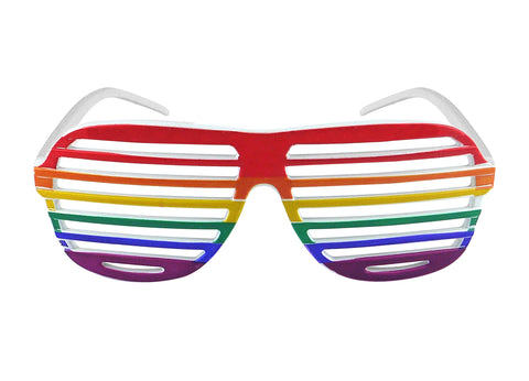 Pride Rainbow Shutter Glasses