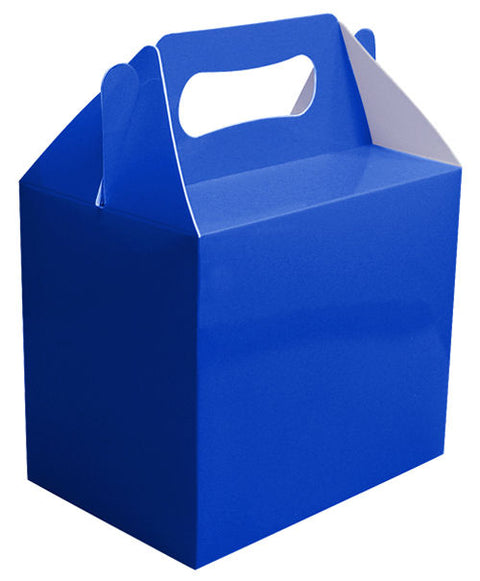 6 Royal Blue Boxes
