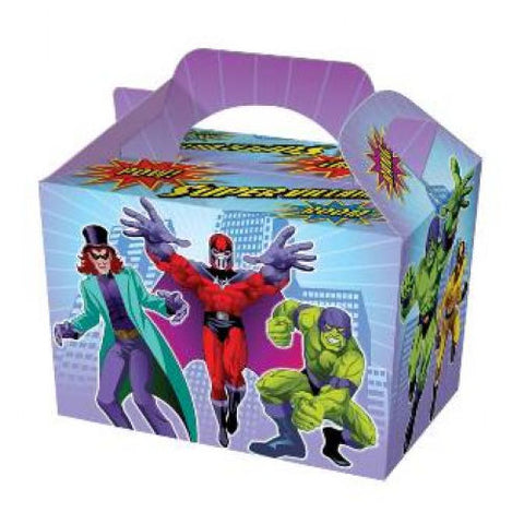 10 Super Villain Boxes - Party Perfecto