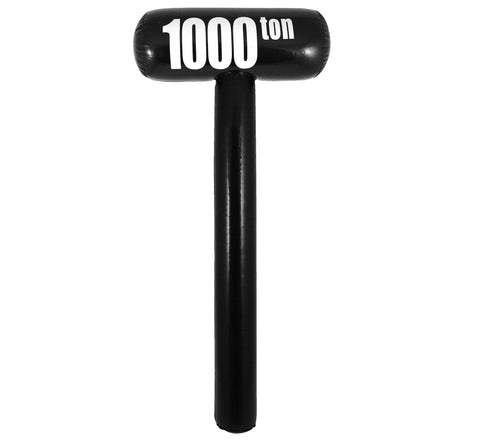 Inflatable 1000 Ton Mallet