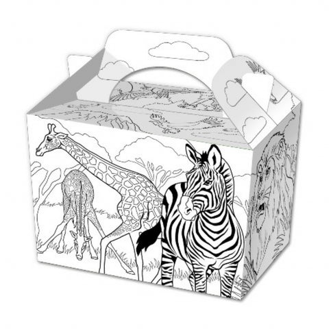 10 Colour In Jungle Boxes