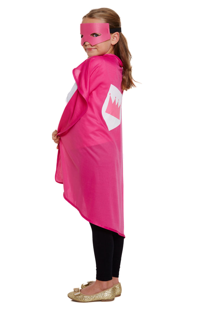 Childs Super Hero Costume - Pink - Party Perfecto