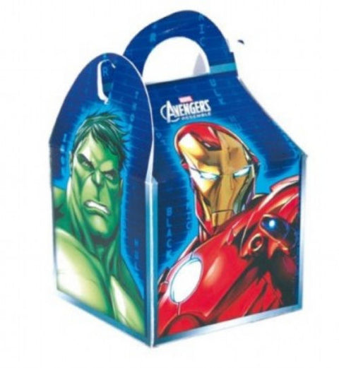 6 Marvel Avengers Party Boxes