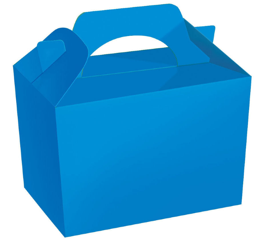 10 Royal Blue Boxes