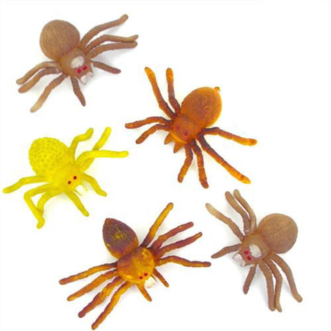 6 Stretchy Spiders