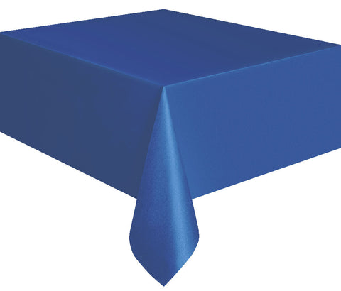 Royal Blue Rectangular Tablecover