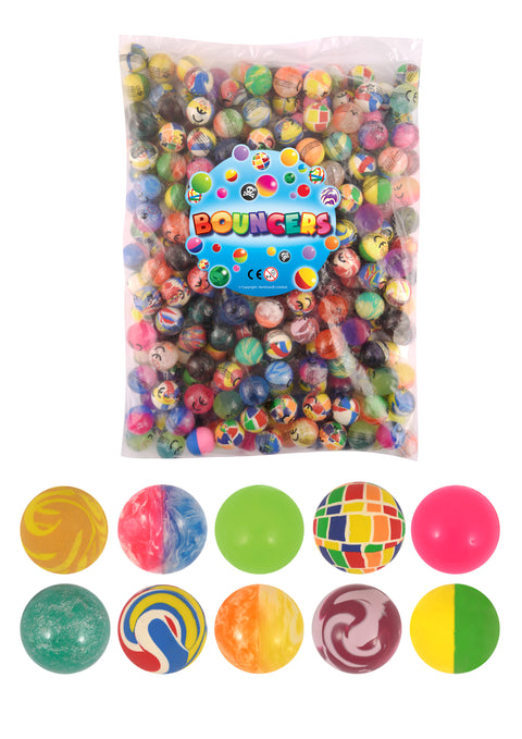 15 Bouncy Balls 27mm