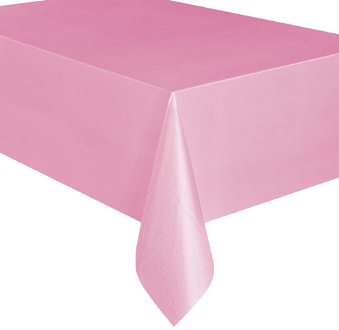 Lovely Pink Rectangular Tablecover
