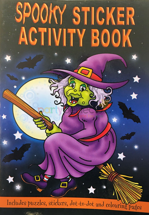 6 Spooky Sticker Activity Books