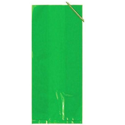 30 Lime Green Cellophane Gift Bags