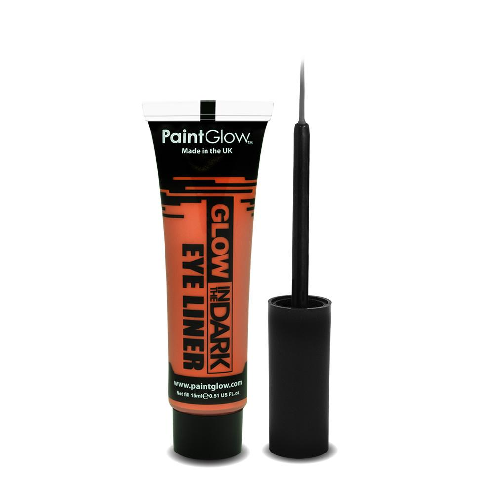 Orange - Glow In The Dark Eye Liner - Party Perfecto