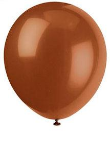 15 Latext Balloons Brown - Party Perfecto